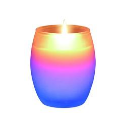 Olympia - Olympia Gökkuşağı Renklerinde Ledli Mum M4712